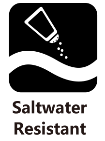 Salt Water Resistant