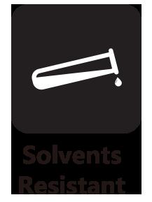 Solvent Resistant