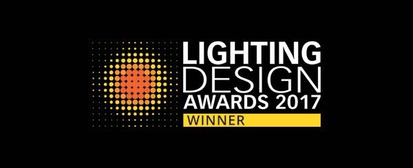 2017 Lighting Design Awards Winner